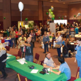 Prestige Club Helps Make Community Health Expo a great success!